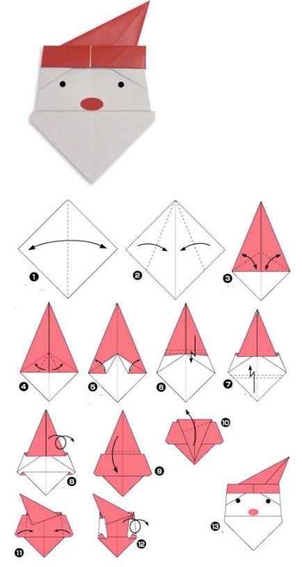 Скачать модульное оригами сосульки для детей - 2
