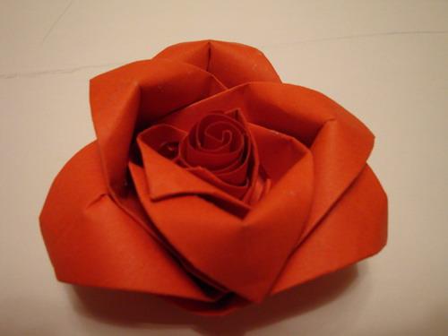 Схема роз из бумаги своими руками