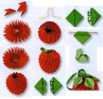 модульное оригами страна