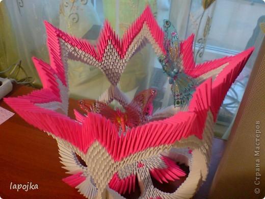Лунтик из модулей оригами схема 10