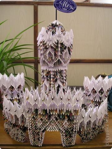 модульное оригами замок