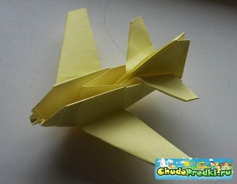 оригами бумажные самолёты