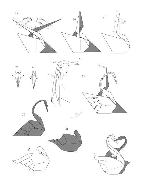 оригами для начинающих схемы