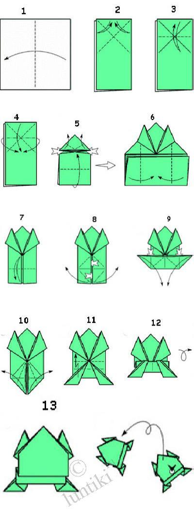 оригами для начинающих цветы