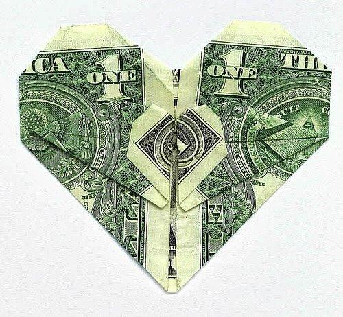 оригами из денег схема цветы