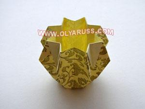 Вазочка из бумаги своими руками для конфет